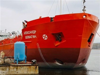 "End of repair works m/v ""Alexander Shemagin"" for 2020"